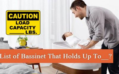 List of Bassinet That Holds Up To 15, 20, 25, 30, 40 Pounds