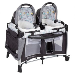 Baby Trend Twin Nursery Center with flip changing station