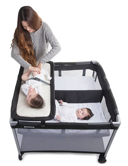 Joovy Room2 Twin Nursery Center diaper changer