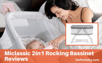 Miclassic 2in1 Rocking Bassinet Reviews ( Hidden Features )