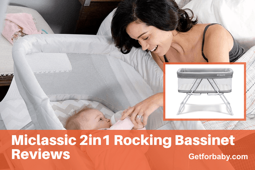 Miclassic 2in1 Rocking Bassinet Reviews