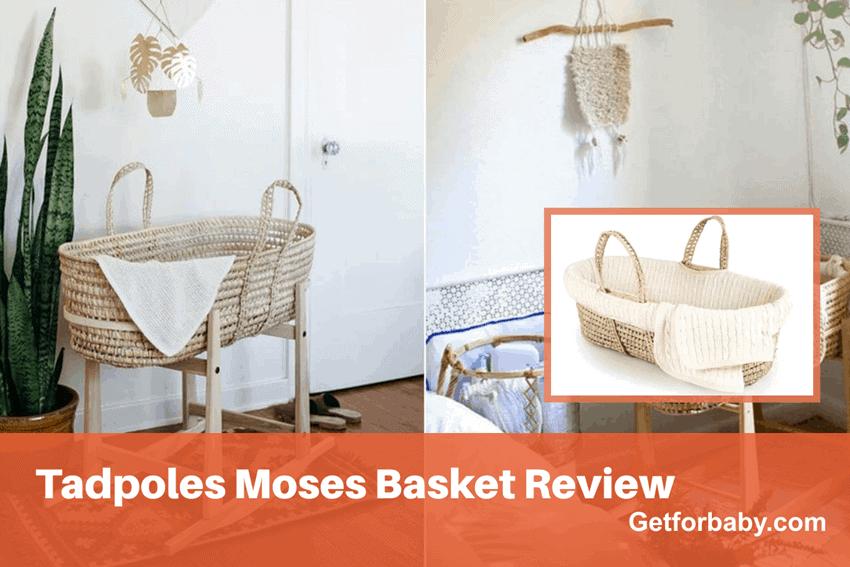 Tadpoles Moses Basket Review