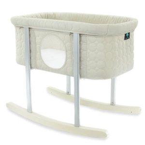 Baby Bassinet Cradle Includes Gentle Rocking