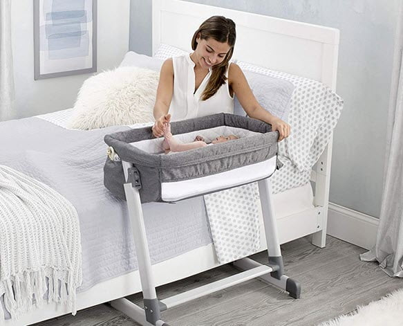 Simmons Kids by The Bed City Bassinet Next to Bed