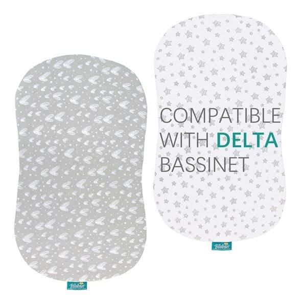 Delta Bassinet Sheets