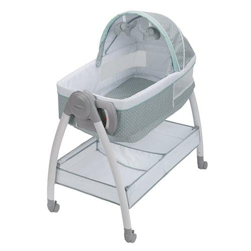 Graco Dream Suite Portable Bassinet with Wheels