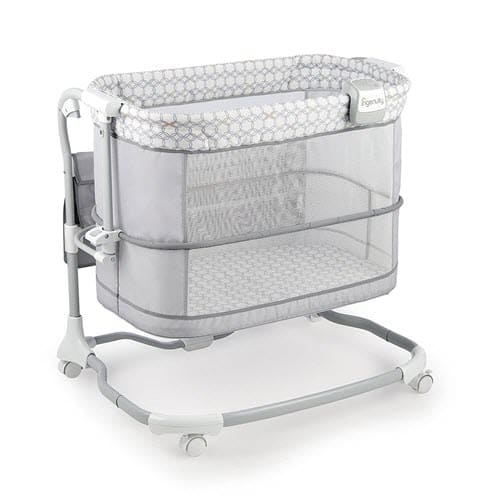 Ingenuity Dream & Grow Bedside Mesh Bassinet With Wheels