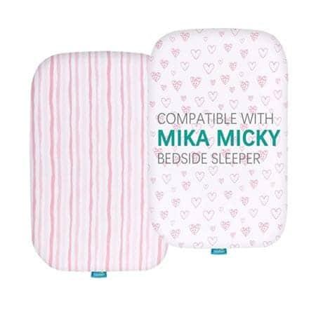 Mika Micky Bassinet Sheets
