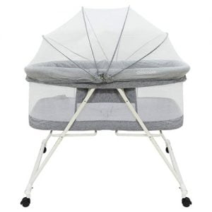 Portable Baby Bassinet - Foldable Crib for Newborns