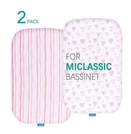miclassic bassinet sheets