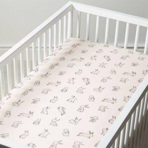 sheet in crib
