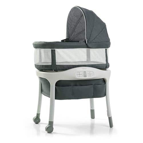 Graco Sense2Snooze Bassinet with Sidewall Storage