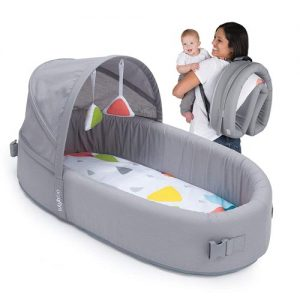 Lulyboo Bassinet to go Infant Sleeper In bed