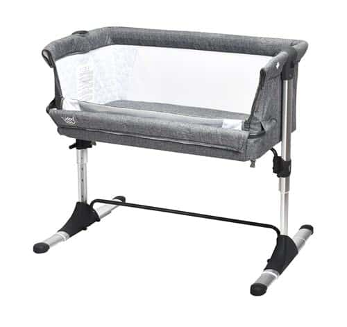 BABY JOY Bedside Bassinet for Long Baby