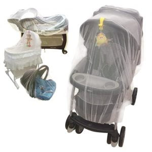 Baby Mosquito Net for Stroller, Crib, Pack and Play, Bassinet, Playpen