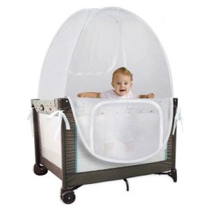 Baby Pack 'N' Play Pop Up Tent Safety Net, Protects from Insect