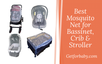 11 Mosquito Net for Bassinet, Crib & Stroller