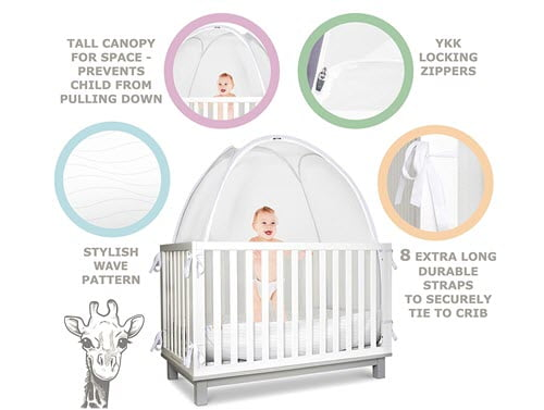 KinderSense - Baby Safety Crib Tent