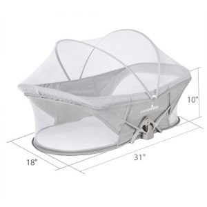 Luckydove Travel Bassinet-Folding Portable