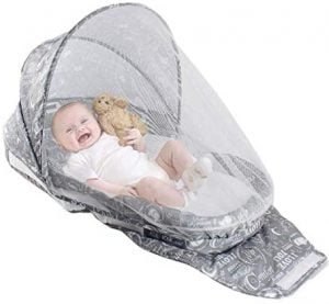 Portable & Foldable Baby Bed with Mosquito Net
