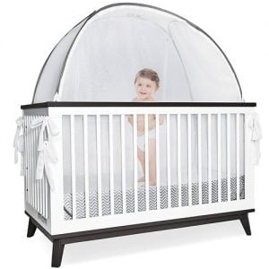 Pro Baby Safety Grey Canopy Cover mosquito net