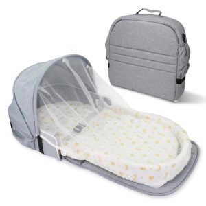 Surpcos 4 in 1 Portable Bassinet with net