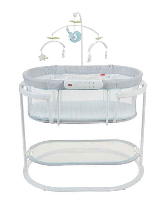 Fisher-Price Soothing Motions Modern Baby Bassinet
