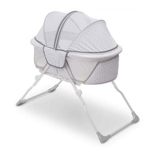 Delta Children EZ Fold Travel Bassinet for Baby