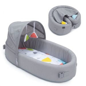 Lulyboo Bassinet To Go Infant Bassinet Canopy