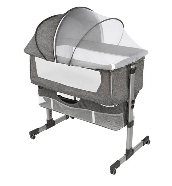 Nordmiex Bedside Bassinet Netting Canopy Cover
