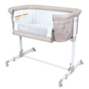Papablic 2-in-1 Anio Baby Bassinet & Bedside Sleeper