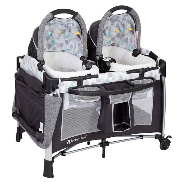 Baby Trend GoLite Double Twin Pack and Play Bassinet