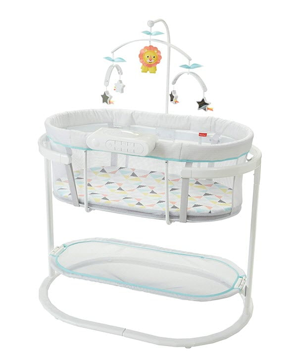 Fisher Price Soothing Motions Bassinet On Mobile