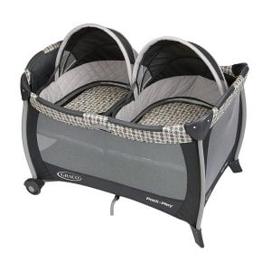Graco Pack n Play Twin Bassinet for Newborn