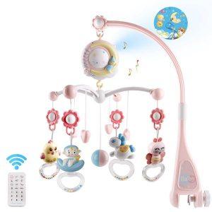 Mini Tudou Baby Musical Mobile for Bassinet