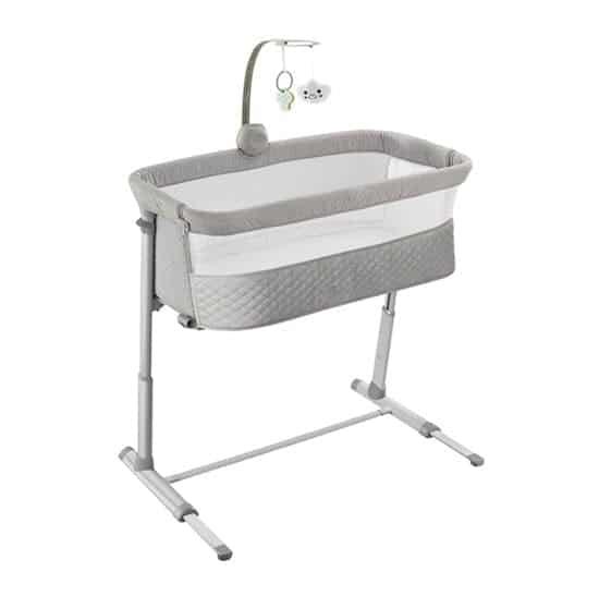 RONBEI Bedside Bassinet for Breastfeeding Moms