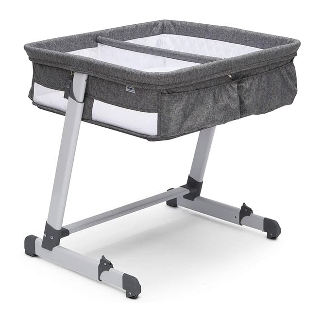 Simmons Kids Bed City Co Sleeper Bassinet for Twins