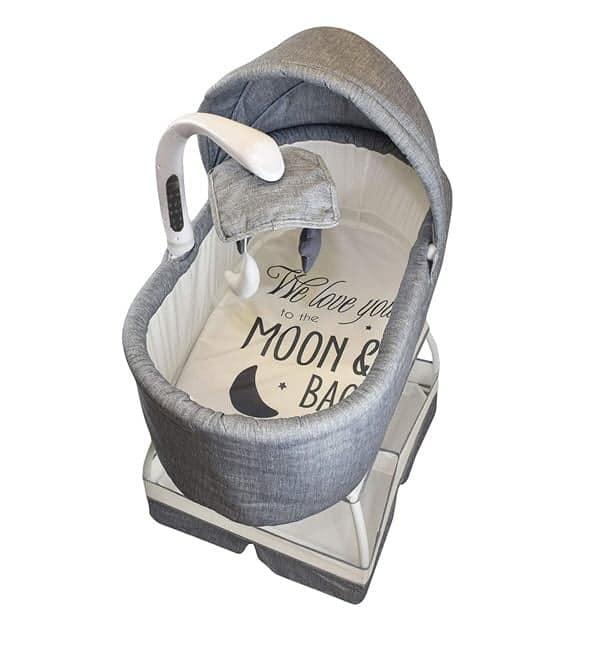Sweetli Baby Bassinet Sleeper With Advance Mobile