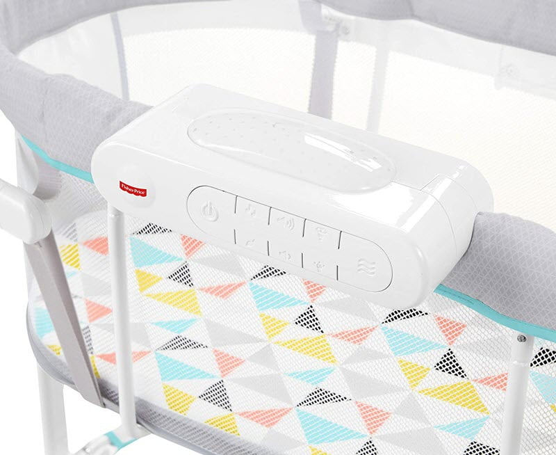 Fisher-Price Soothing Motions Bassinet mobile soother