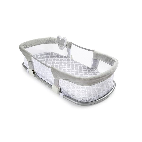 Mobile of the SwaddleMe by Your Side Sleeper bassinet