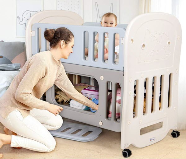 how to move crib from room to room
