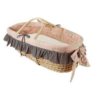 Cotton Tale Designs Baby Moses Basket Bassinet