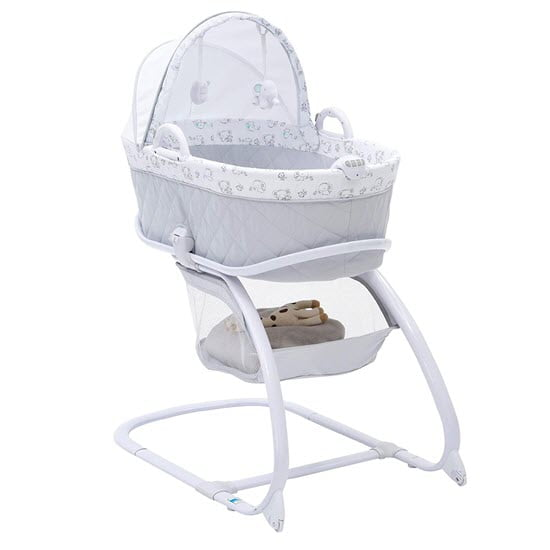 Delta Children 2-in-1 Moses Bassinet with Stand