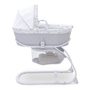 Delta Children Deluxe 2-in-1 Moses Bedside moses basket Bassinet with stand