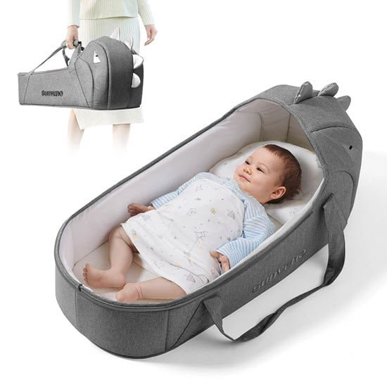 LaLaMe Organic Baby bassinet and Lounger