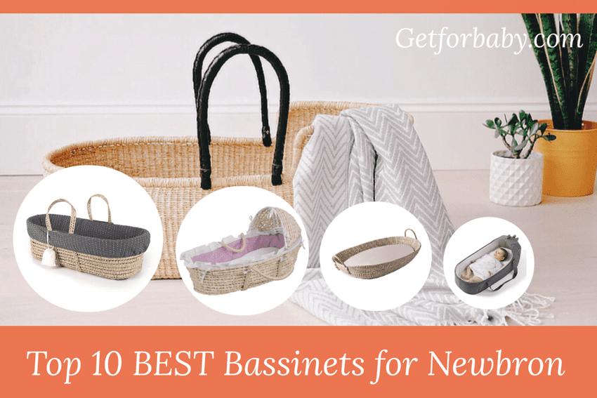 Top 8 BEST Moses Basket Bassinet