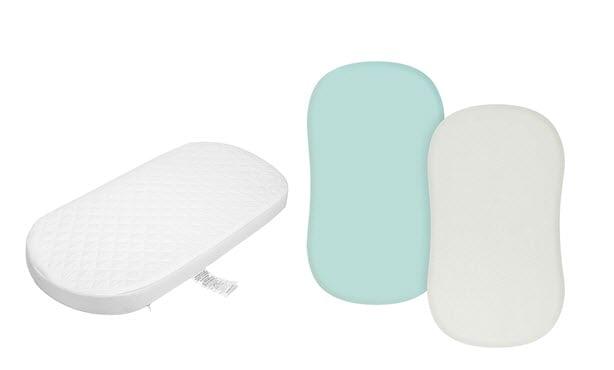 ingenuity dream and grow bassinet sheets & Mattress Set