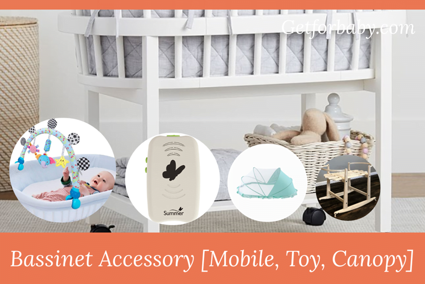 Bassinet Accessory [ Mobile, Toy, Canopy & Battery ]