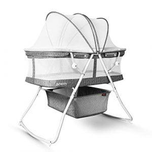 Besrey 3in1 Portable Baby Bassinet