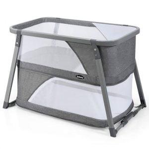 INFANS Baby Foldable Travel Crib